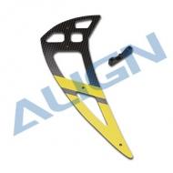 550L碳纖垂直翼-黃