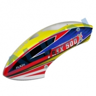 500X 彩繪機頭罩