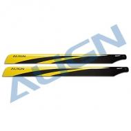 650碳纖主旋翼-黃