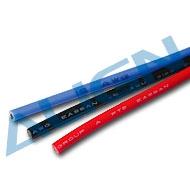 16AWG矽膠軟線(紅/藍/黑各一條,長70cm)