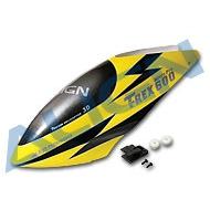 600N 彩繪機頭罩/霹靂黃