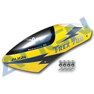 700N彩繪機頭罩/霹靂黃