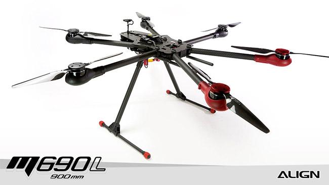 RM69001XW M690L Multicopter Super Combo (Bonus Align
