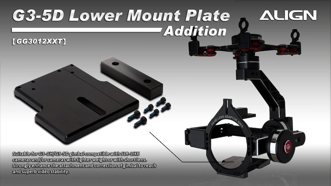G3-5D Extension Lower Mounting Plate GG3012XX