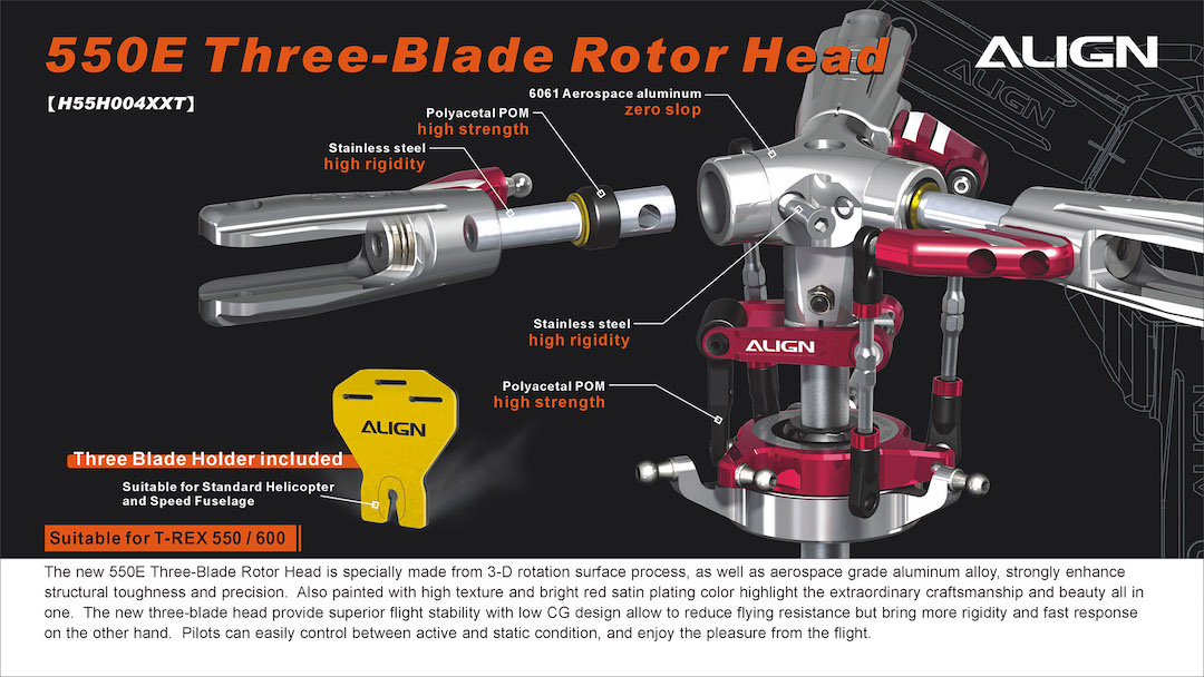align helicopter kits with 550e Three Blade Rotor Head H55h004xx P 4475 on P268728 moreover Mueller Paul additionally 550E Three Blade Rotor Head H55H004XX p 4475 furthermore P300259 together with Beechcraft Baron G58  posite ARF RedBlackGrey  p 26.
