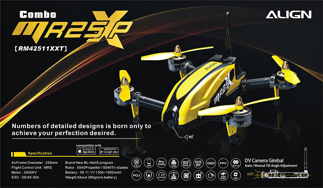 MR25 / MR25P Racing Quad - Align