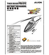 T-REX 800E Pro DFC Super Combo RH80E10 - Align